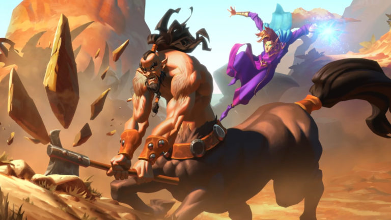 Forged in the Barrens Hearthstone Promo Art 3 768x432 1