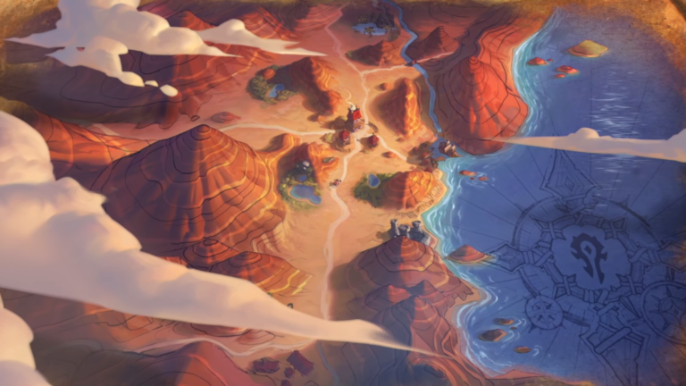 Hearthstone Forged in the Barrens Cinematic Still One 768x432 2