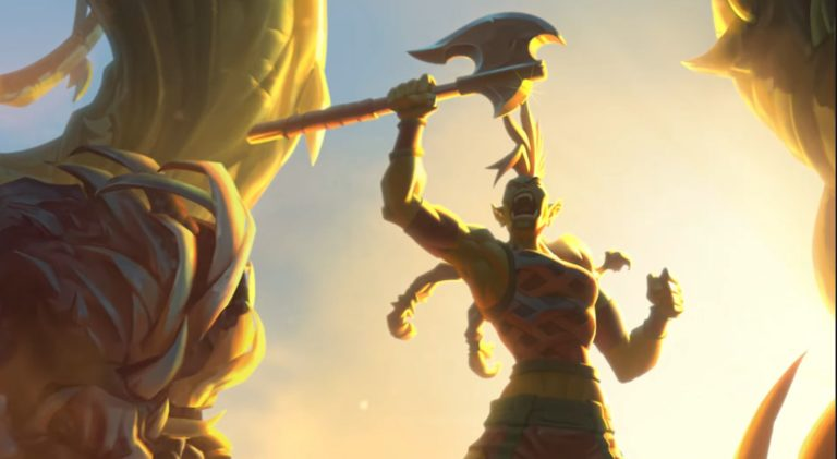 Hearthstone expansion Forged in the Barrens is the first expansion 768x421 1