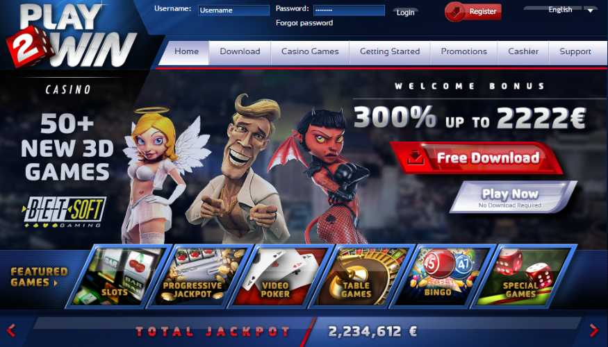 Play2Win Casino